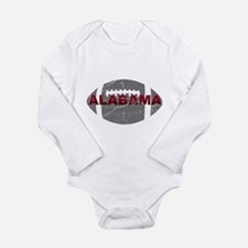 Alabama Football Long Sleeve Infant Bodysuit