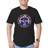 508th airborne t Fitted T-shirts (Dark)