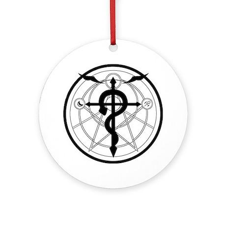 Transmutation Circle Ornament (Round)