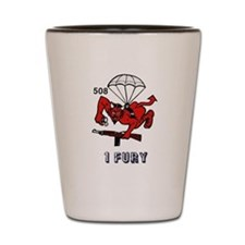 1st / 508th PIR Shot Glass