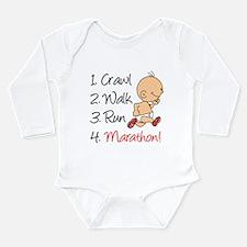 Crawl, Walk, Run Marathon Baby Outfits