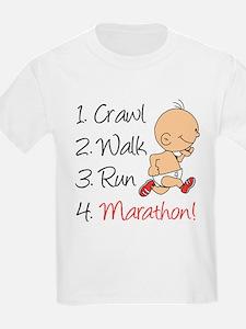 Crawl, Walk, Run Marathon T-Shirt