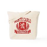 Monte carlo monaco Canvas Bags