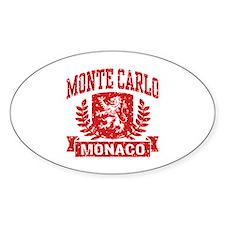 Monte Carlo Monaco Decal