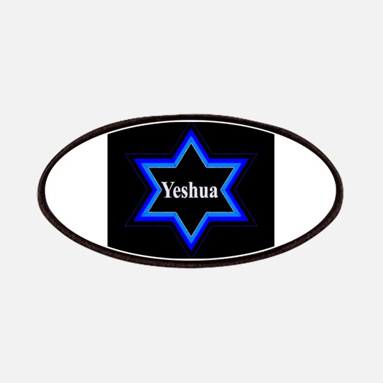 Yeshua Star of David (Blk) Patch