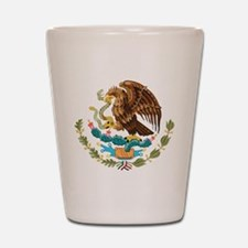 Mexico Coat of Arms Shot Glass