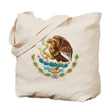 Mexico Coat of Arms Tote Bag