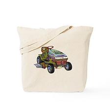 Designer Lawnmower Tote Bag