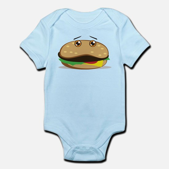 Hamburger Infant Bodysuit