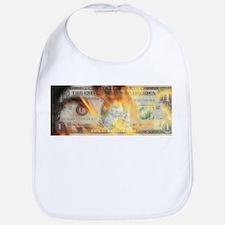 Burning Dollar Bib