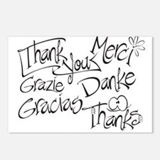 THANK YOU - Postcards (Package of 8)