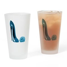 Periwinkle Blue Stiletto Shoe Pint Glass