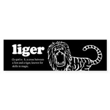 Liger ~ Bumper Car Sticker