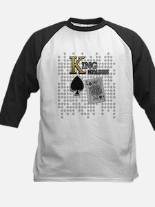King of Spades Poker Design Kids Baseball Jersey