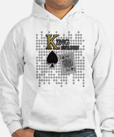 King of Spades Poker Design Hoodie