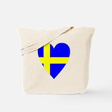 HEART FOR SWEDEN Tote Bag