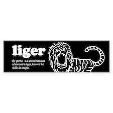 Liger ~ Bumper Bumper Sticker