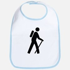 Hiking Trail Image Bib