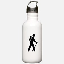 Hiking Trail Image Water Bottle