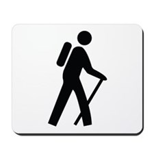 Hiking Trail Image Mousepad