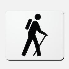 Hiking Trail Image Mousepad