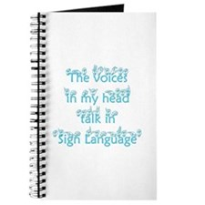 The voices in my head talk in Journal