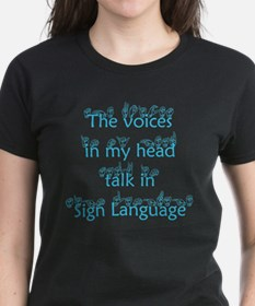 The voices in my head talk in Tee
