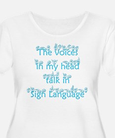 The voices in my head talk in T-Shirt