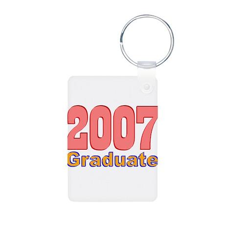 2007 Graduate Aluminum Photo Keychain