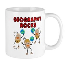 Three Geography Rocks Mug