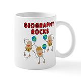 Geography Coffee Mugs