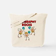 Three Geography Rocks Tote Bag