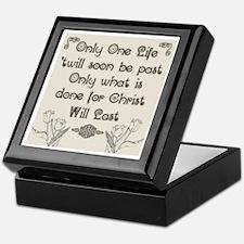 Only One Life Keepsake Box
