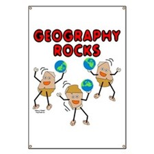 Three Geography Rocks Banner