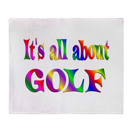 About Golf Throw Blanket