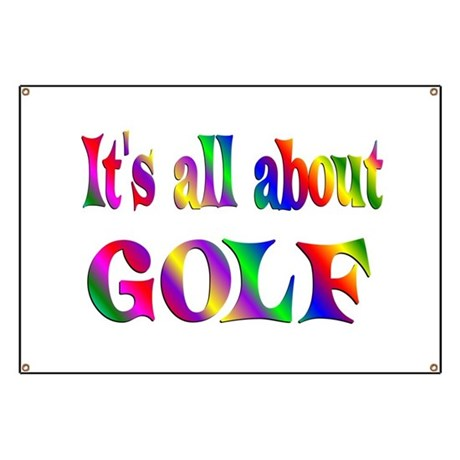 About Golf Banner