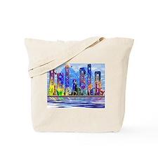 I Heart Colorful NYC Tote Bag