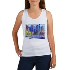 I Heart Colorful NYC Women's Tank Top
