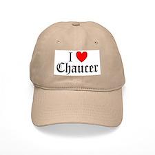 I Love Chaucer Cap