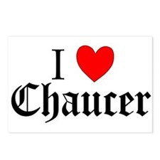 Cute Chaucer Postcards (Package of 8)