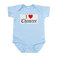 I Love Chaucer Infant Creeper