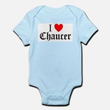 I Love Chaucer Infant Creeper