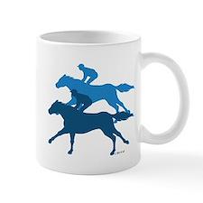 Horse Racing Small Mug