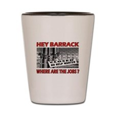 VOTE HIM OUT ! - Shot Glass