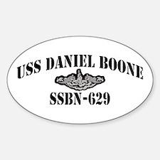 USS DANIEL BOONE Decal