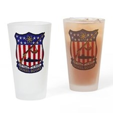 USS DANIEL BOONE Pint Glass