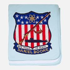 USS DANIEL BOONE baby blanket