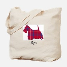 Terrier - Rose Tote Bag