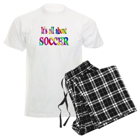 About Soccer Men's Light Pajamas