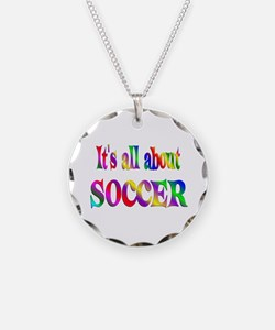 About Soccer Necklace